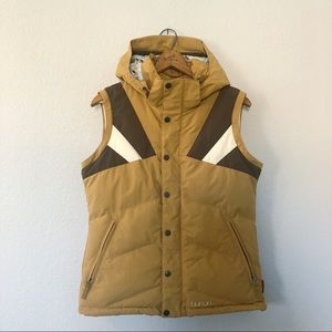 Burton Snowboard And Ski Vest Puffy